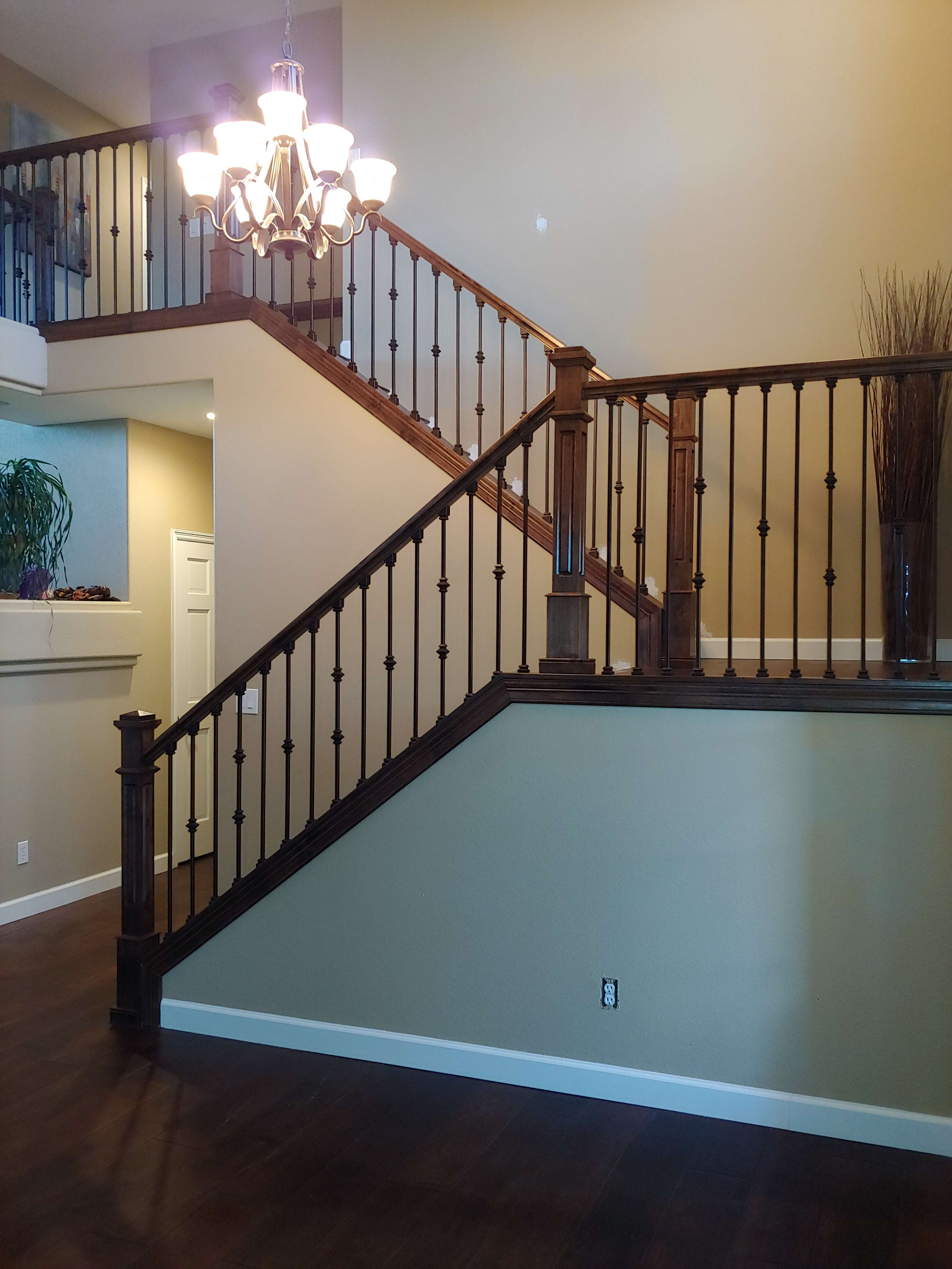 Stair Railings Installation Littleton Castle Rock Highland Ranch Co Pasko S Artistic Carpentry Llc
